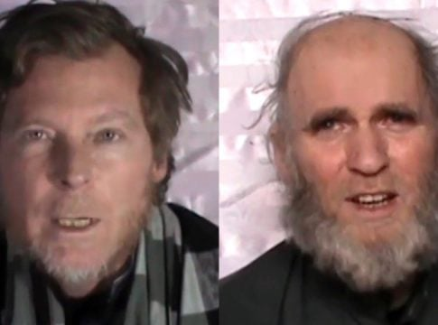US welcomes the release of two American and Australian hostages from Afghanistan