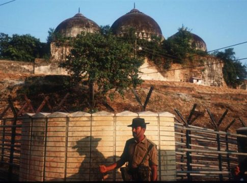 Babri mosque: Indian Supreme Court ruled in favor of Hindus in a dispute over a religious position with Muslims
