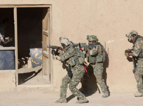 CIA backed Afghan soldiers charged with killing civilians
