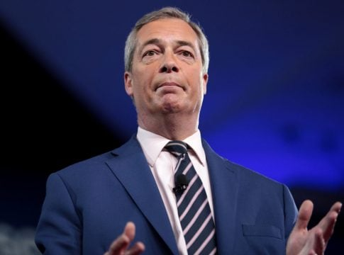 Farage declares not to compete for conservative seats in the upcoming elections
