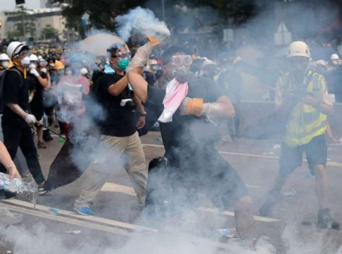 Hong Kong suspends school sessions until Sunday due to protests