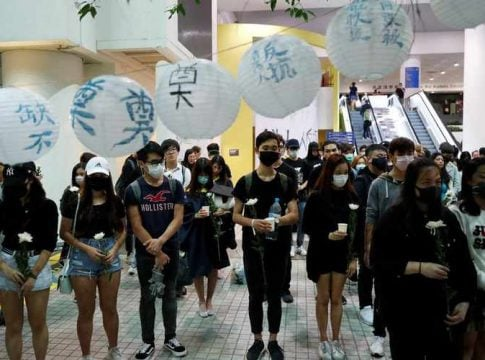 Thousands gather to pay tribute to martyrs of Hong Kong protests
