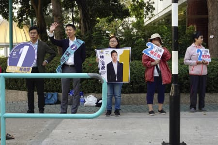 Hong Kong local elections: Pro-Democracy moment tuned to vote instead march
