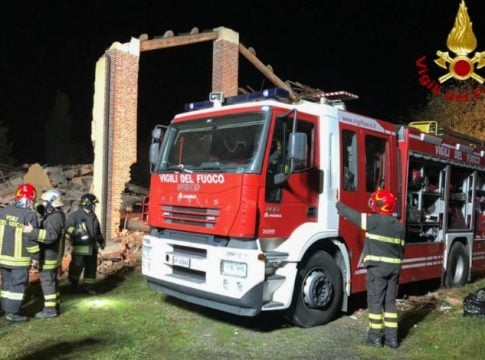Italy: Three firefighters killed in a mysterious explosion