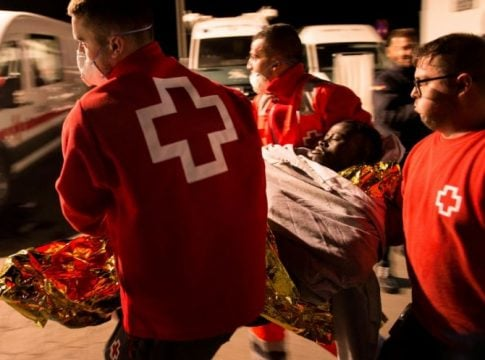 4 migrants killed, 16 lost after boat overturns in Spain