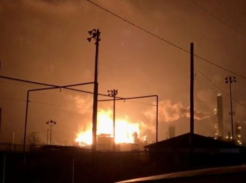 Texas chemical plant explodes, three injured