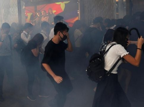 Hong Kong police fires tear gas at City University campus amid unrest