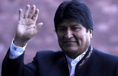 Morales announced departure of Bolivia: