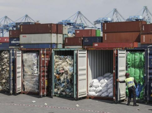 Malaysia returns 42 containers of plastic waste to Britain