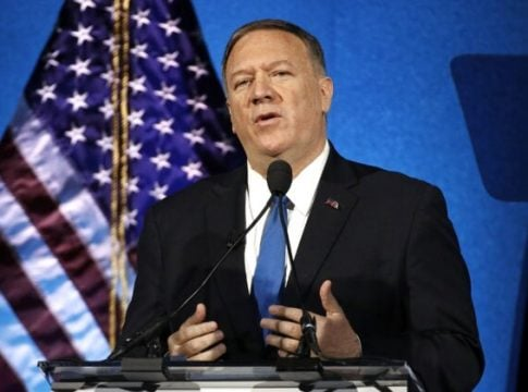Pompeo urged Iranians to send evidence of government abuse against protesters