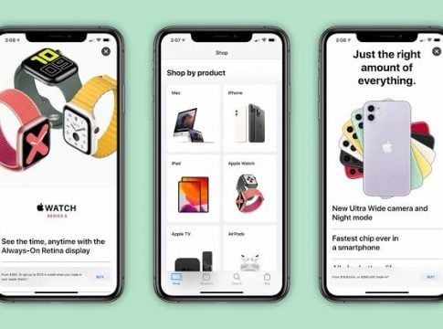 Apple redesigns SHOP tab at the App Store