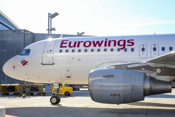 Eurowings cancels 170 flights on a 3-day air hosts strike in Germany