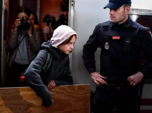 Greta Thunberg: Change will come, whether you like it or not