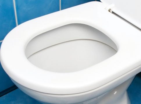 Designers create a toilet that pushes people to leave the bathroom within 5 minutes