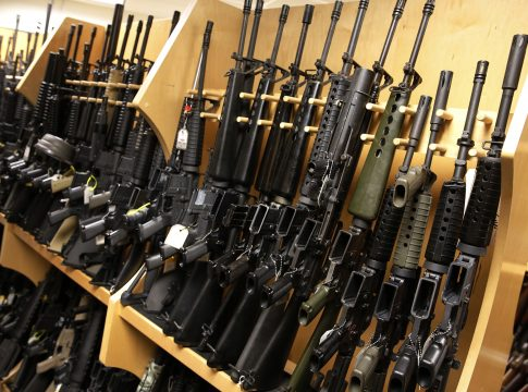 Stolen weapons from the British military stores offered for sale on the Internet