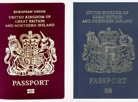 100-year old British passport will return to use after Brexit